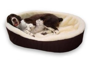 Dog Bed King USA Extra Large Imitation Lambswool Dog Bed