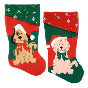 Cat and Dog Stockings