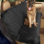 Epica – Deluxe Pet Bench Car Seat Cover, Quilted, Water Resistant, and Machine Washable ,Black (Item# 82247)-56″x47″