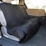 Dog Car Seat Cover for Cars, Trucks, Suv's, Hammock Style pet seat covers , Seat Anchors, Side Flaps, Waterproof & NonSlip Backing