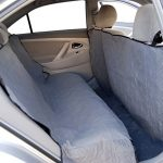 Yes4All Waterproof Hammock Back Seat Cover for Pets. Quilted – MS-011 Gray – ²PUDPZ