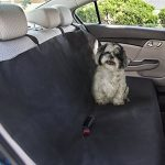 Go Buddy Waterproof Dog Car Seat Cover for Trucks, SUV, Family Van, and Sedan