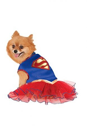 DC Comics Super Girl Pet Tutu Dress, Medium