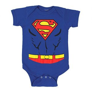 Superman Costume Infant Snapsuit- 6-12 Months