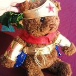 Puppy Wonder Woman Costume (Small)