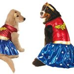 Wonder Woman Dog Costume (2XL)