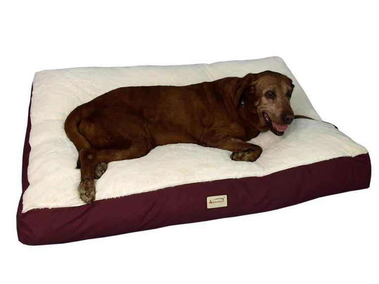 Large Pet Bed Mat with a Waterproof Lining and a Non-Skid Base